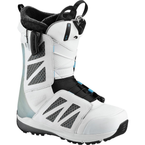 Salomon Snowboards Hi Fi White Snowboard Boot - Men's