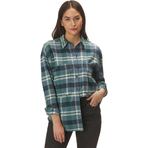 Free People Loveland Plaid Button Down Shirt - Women's