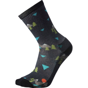 Smartwool Hike Light Under The Stars Print Crew Sock - Men's