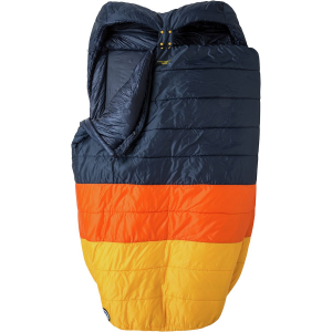 Big Agnes Cabin Creek Double Sleeping Bag: 15F Synthetic