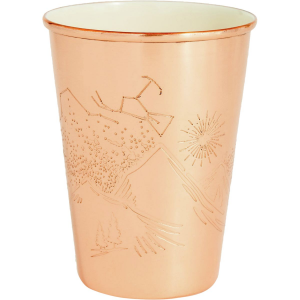 United by Blue Copper Enamel Lined 16oz Tumbler