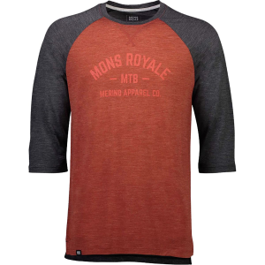 Mons Royale Vapour Lite 3/4-Sleeve Shirt - Men's