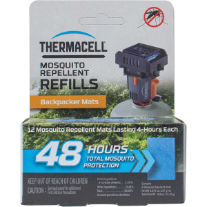 ThermaCELL Backpacker Mosquito Repeller Mat Only Refill - 48 Hours