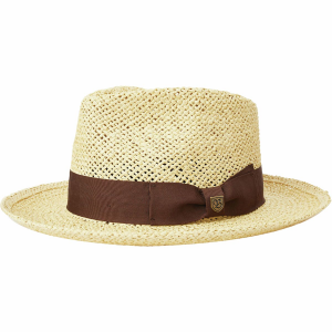 Brixton Swindle Straw Fedora - Women's