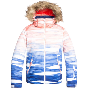 Roxy American Pie Special Edition Hooded Jacket - Girls'