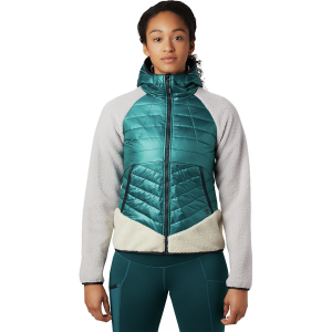 Mountain Hardwear Altius Hybrid Hooded Jacket - Women's