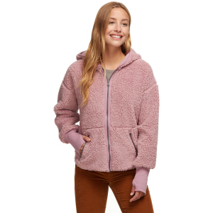 Stoic Reversible Hooded Sherpa Jacket - Women's