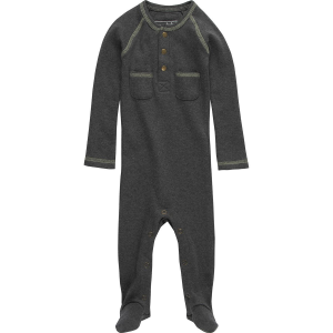 L'oved Baby Chaulkboard Pocket Footed Overall - Infants'