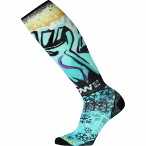 Smartwool PhD Snow Protect Our Winters Ultra Light Print Sock