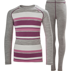 Helly Hansen Jr Merino Mid Baselayer Set - Girls'