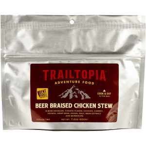 Trailtopia Bent Paddle Beer Braised Chicken Stew