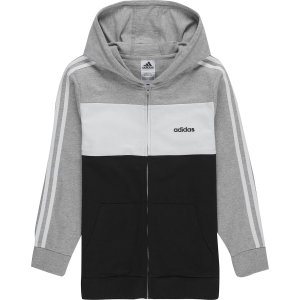 Adidas Color Block Hooded Jacket - Boys'
