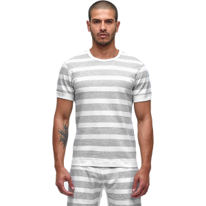 Reigning Champ Striped Terry Reversible Crewneck - Men's