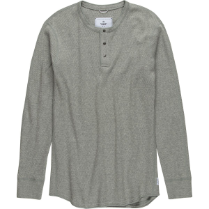 Reigning Champ Honeycomb Thermal Long Sleeve Henley - Men's