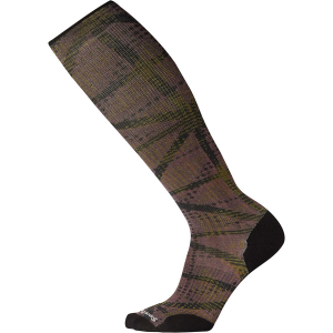 Smartwool Compression On The Move Print Over The Calf Sock - Men's