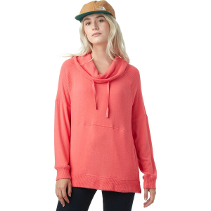 Basin and Range Cashmere Touch Rib Trim Top - Women's