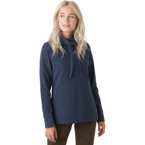 Stoic Quilted Cowl-Neck Tie Sweater - Women's