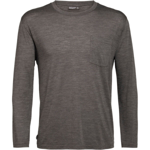 Icebreaker Nature Dye Drayden Long-Sleeve Pocket Crew Shirt - Men's