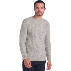Barbour Chunky Cable Crew Sweater - Men's