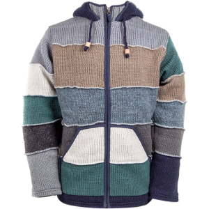 Laundromat Patchwork Sweater - Men's