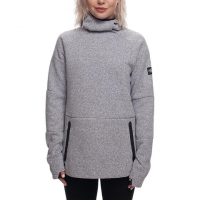686 GLCR Knit Tech Fleece Hoody - Women's White Sm