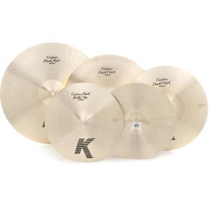 Zildjian K Custom Dark 4-Piece Cymbal Pack