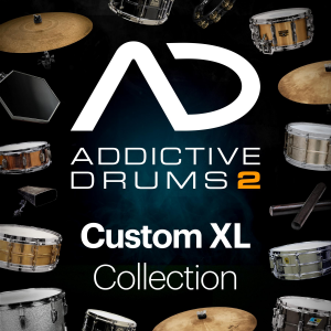 XLN Audio Addictive Drums 2: Custom XL